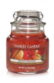 Aromatická svíčka, Yankee Candle Spiced Orange, hoření až 30 hod