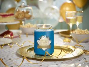 Aromatická svíčka, Yankee Candle Splash of Rain, hoření až 150 hod