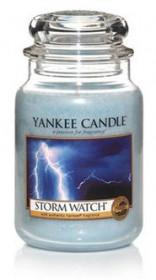 Aromatická svíčka, Yankee Candle Storm Watch, hoření až 150 hod