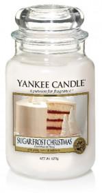 Aromatická svíčka, Yankee Candle Sugar Froste Christmas, hoření až 150 hod