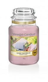 Aromatická svíčka, Yankee Candle Sunny Daydream, hoření až 150 hod