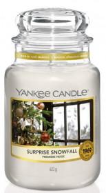 Aromatická svíčka, Yankee Candle Surprise Snowfall, hoření až 150 hod