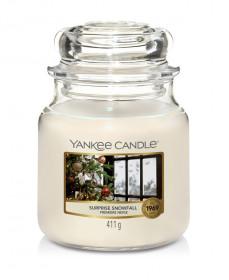 Aromatická svíčka, Yankee Candle Surprise Snowfall, hoření až 75 hod