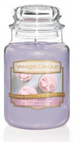 Aromatická svíčka, Yankee Candle Sweet Morning Rose, hoření až 150 hod