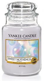 Aromatická svíčka, Yankee Candle Sweet Nothings, hoření až 150 hod