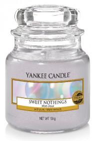 Aromatická svíčka, Yankee Candle Sweet Nothings, hoření až 30 hod