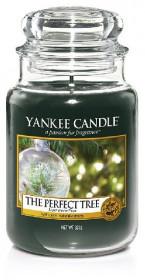 Aromatická svíčka, Yankee Candle The Perfect Tree, hoření až 150 hod