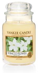 Aromatická svíčka, Yankee Candle Tobacco Flower, hoření až 150 hod