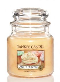 Aromatická svíčka, Yankee Candle Vanilla Cupcake, hoření až 75 hod