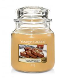 Aromatická svíčka, Yankee Candle Vanilla French Toast, hoření až 75 hod