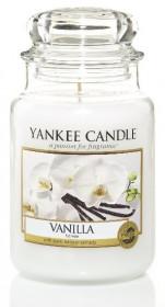 Aromatická svíčka, Yankee Candle Vanilla, hoření až 150 hod