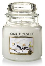 Aromatická svíčka, Yankee Candle Vanilla, hoření až 75 hod