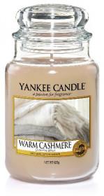 Aromatická svíčka, Yankee Candle Warm Cashmere, hoření až 150 hod