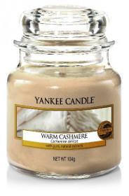 Aromatická svíčka, Yankee Candle Warm Cashmere, hoření až 30 hod