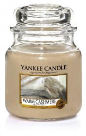 Aromatická svíčka, Yankee Candle Warm Cashmere, hoření až 75 hod