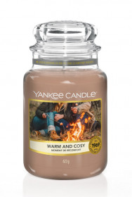 Aromatická svíčka, Yankee Candle Warm & Cosy, hoření až 150 hod