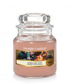 Aromatická svíčka, Yankee Candle Warm & Cosy, hoření až 30 hod