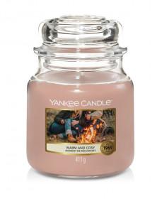 Aromatická svíčka, Yankee Candle Warm & Cosy, hoření až 75 hod