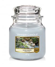 Aromatická svíčka, Yankee Candle Water Garden, hoření až 75 hod