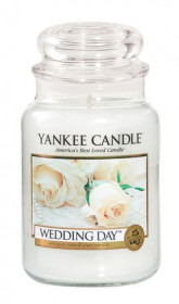 Aromatická svíčka, Yankee Candle Wedding day, hoření až 150 hod