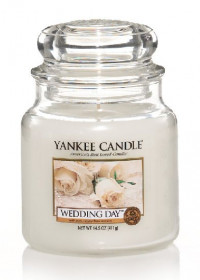 Aromatická svíčka, Yankee Candle Wedding Day, hoření až 75 hod