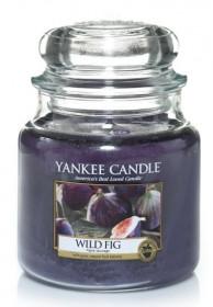 Aromatická svíčka, Yankee Candle Wild Fig, hoření až 75 hod