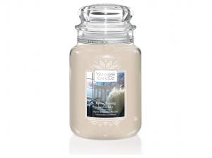 Aromatická svíčka, Yankee Candle Winter Alpine Morning, hoření až 150 hod