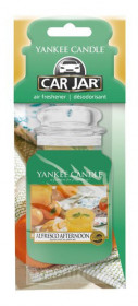Aromatická visačka do auta, Yankee Candle Alfresco Afternoon, papírová, provonění až 4 týdny