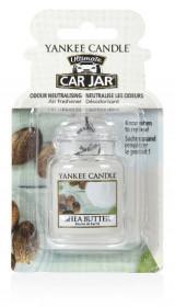 Aromatická visačka do auta, Yankee Candle Shea Butter, gelová, provonění až 4 týdny