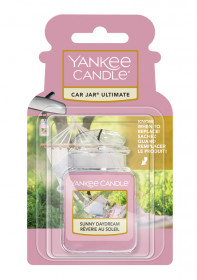 Aromatická visačka do auta, Yankee Candle Sunny Daydream, gelová, provonění až 4 týdny