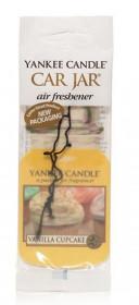 Aromatická visačka do auta, Yankee Candle Vanilla Cupcake, papírová, provonění až 4 týdny