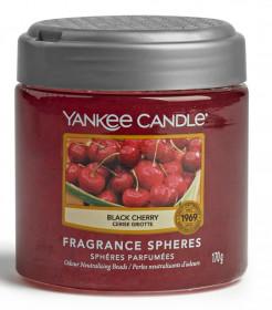 Aromatické perly, Yankee Candle Spheres Black Cherry, provonění až 4 týdny