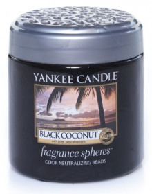 Aromatické perly, Yankee Candle Spheres Black Coconut, provonění až 4 týdny