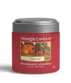 Aromatické perly, Yankee Candle Spheres Holiday Hearth, provonění až 4 týdny