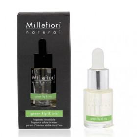 Aromatický olej, Millefiori Natural, Green Fig & Iris, 15 ml
