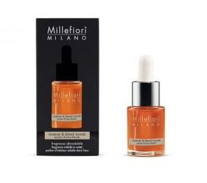 Aromatický olej, Millefiori Natural, Incense & Blond Woods, 15 ml
