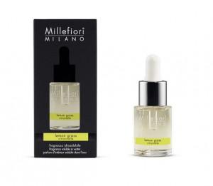 Aromatický olej, Millefiori Natural, Lemon Grass, 15 ml
