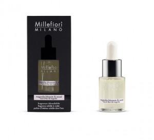 Aromatický olej, Millefiori Natural, Magnolia Blossom & Wood, 15 ml