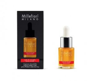 Aromatický olej, Millefiori Natural, Mela & Cannella, 15 ml