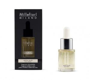 Aromatický olej, Millefiori Natural, White Musk, 15 ml