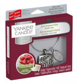 Aromatický přívěsek do auta, Yankee Candle Charming Scents Square Black Cherry