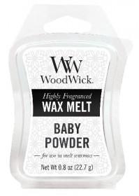 Aromatický vosk, WoodWick Baby Powder, provonění minimálně 8 hod