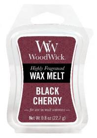 Aromatický vosk, WoodWick Black Cherry, provonění minimálně 8 hod