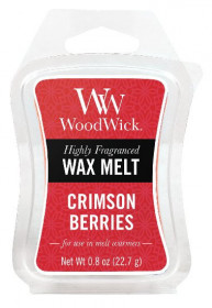 Aromatický vosk, WoodWick Crimson Berries, provonění minimálně 8 hod