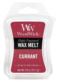 Aromatický vosk, WoodWick Currant, provonění minimálně 8 hod