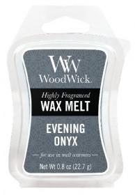 Aromatický vosk, WoodWick Evening Onyx, provonění minimálně 8 hod