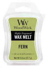 Aromatický vosk, WoodWick Fern, provonění minimálně 8 hod
