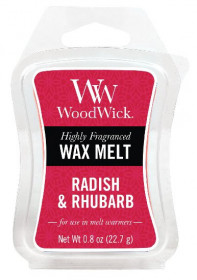 Aromatický vosk, WoodWick Radish and Rhubarb, provonění minimálně 8 hod