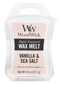 Aromatický vosk, WoodWick Sea Salt Vanilla, provonění minimálně 8 hod