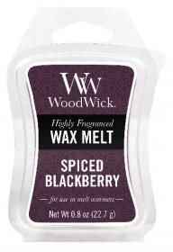 Aromatický vosk, WoodWick Spiced Blackberry, provonění minimálně 8 hod